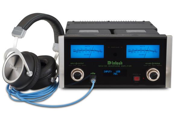 McIntosh MHA100 Amp with MHP1000